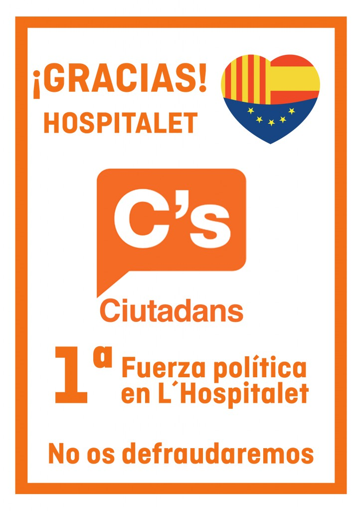 Cartel_GRACIAS HOSPITALET copia