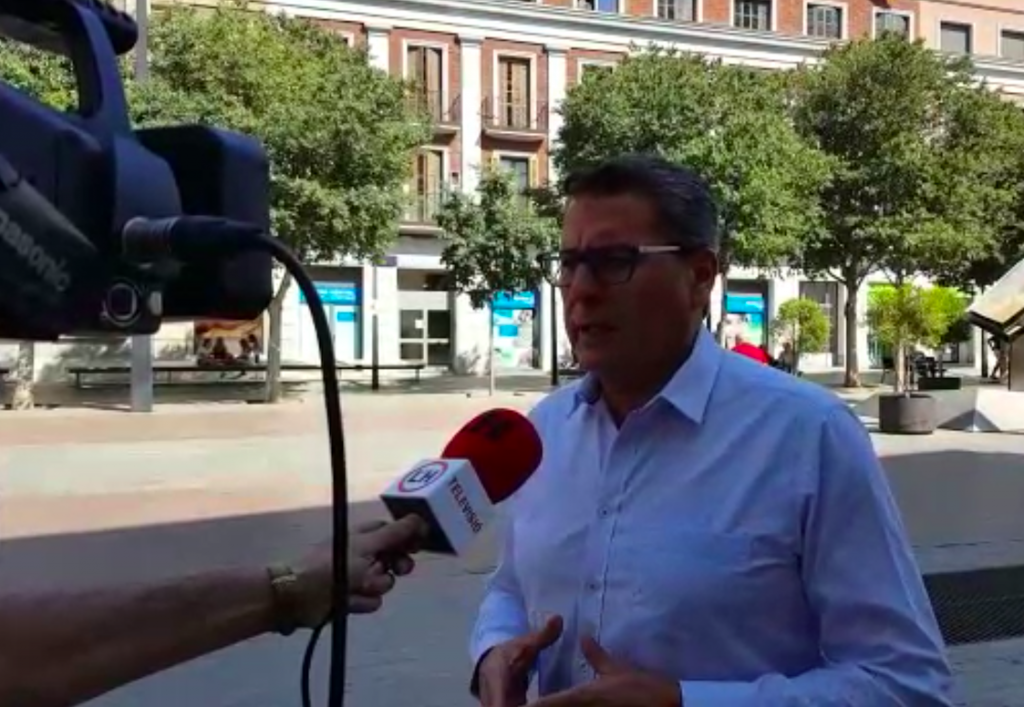 Miguel García, portavoz de C's en el Ayuntamiento de L'Hospitalet