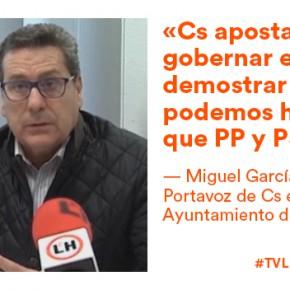 VÍDEO: Miguel García y Noemí de la Calle, nuevos Consejeros Generales de Ciudadanos
