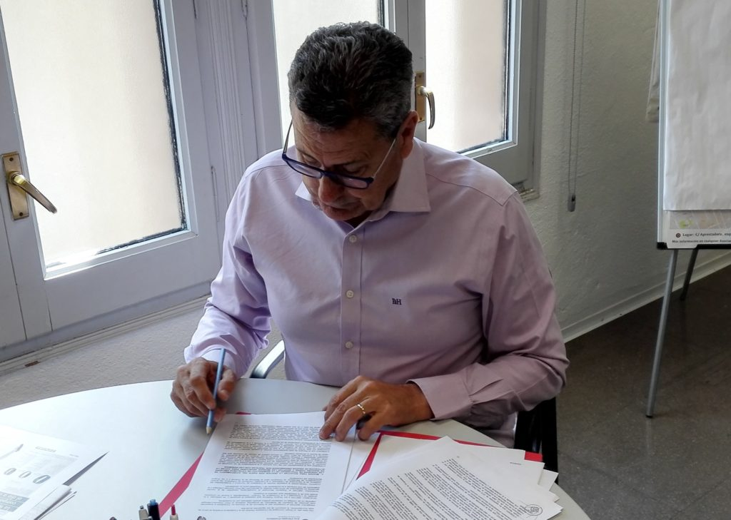 Miguel García, portavoz de Ciudadanos en L'Hospitalet