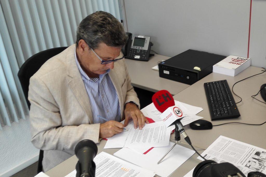 El portavoz de Ciudadanos en el Ayuntamiento de l'Hospitalet, Miguel García