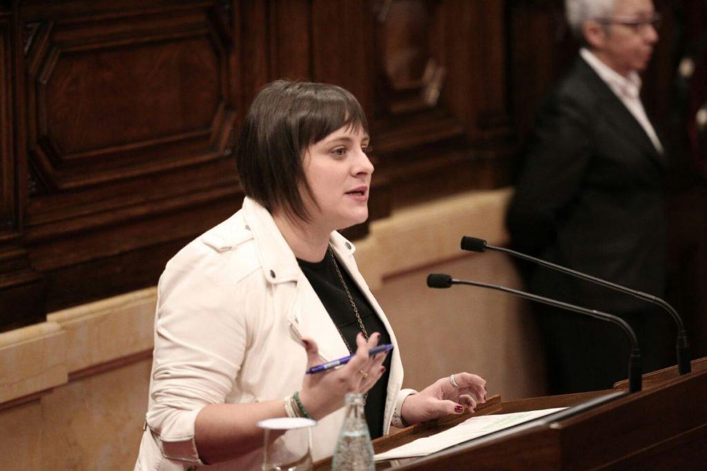 Noemí de la Calle, diputada de Ciudadanos (Cs) en el Parlament de Catalunya