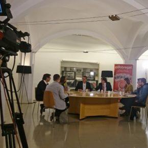 El portavoz de Cs l'Hospitalet, Miguel García, participa en el debate político organizado por 'El Llobregat' de cara al 21-D