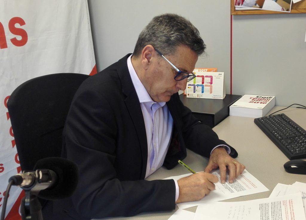 Miguel García, concejal de Ciudadanos (Cs) en l'Hospitalet de Llobregat