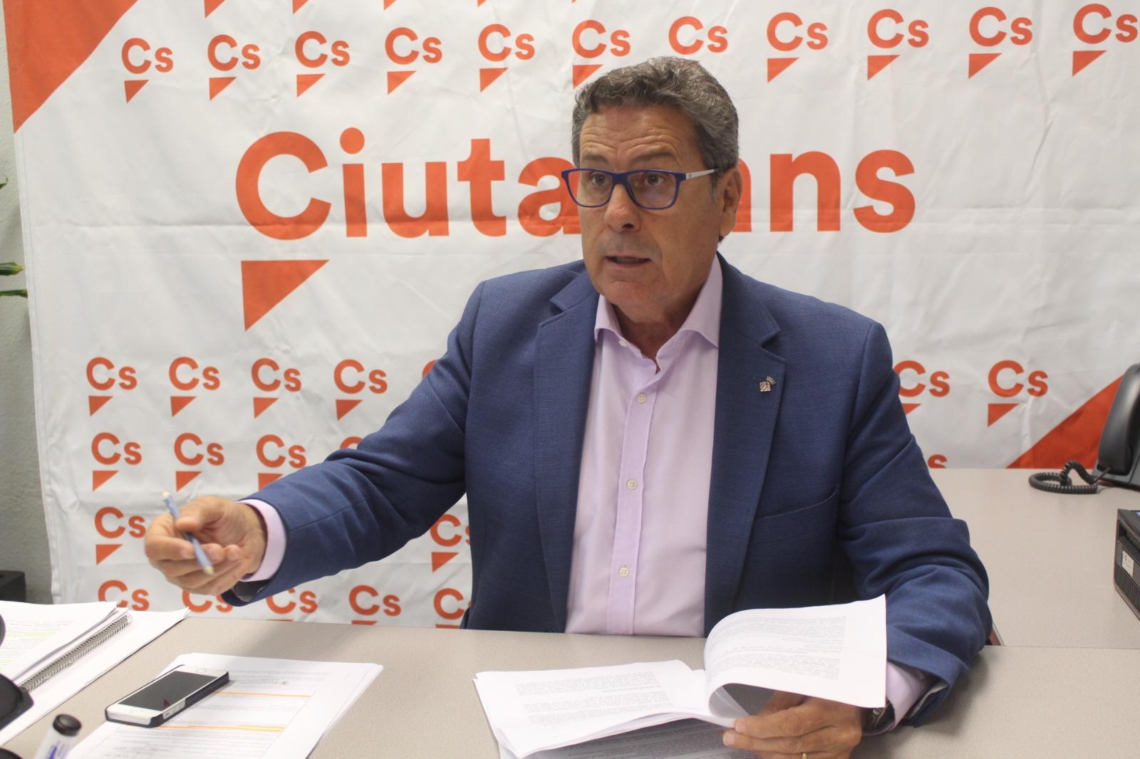 El portavoz de Ciudadanos (Cs) en l'Hospitalet de Llobregat, Miguel García