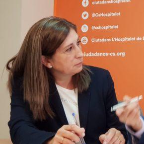 La exconcejal de Gobierno del PSC en l'Hospitalet de Llobregat, Fernanda Sánchez, se une a las filas de Ciudadanos (incluye VÍDEO)