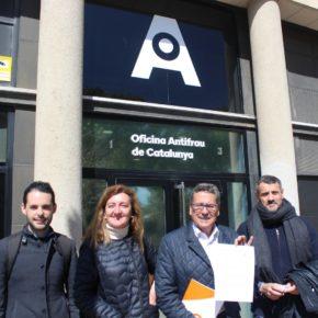 Cs denuncia ante la Oficina Antifraude 15 millones de euros adjudicados a dedo por el Gobierno de Núria Marín en 113 contratos irregulares