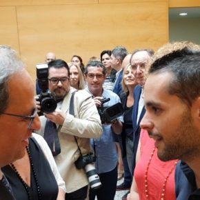 Cs l'Hospitalet considera que la invitación de Núria Marín a Torra confirma la alianza entre el PSC y Puigdemont