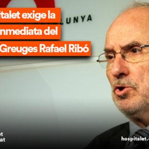 Cs l'Hospitalet exige la renuncia inmediata del Síndic de Greuges Rafael Ribó