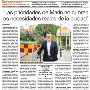 Entrevista a Miguel García, portavoz de Cs l'Hospitalet - Diari de l'Hospitalet (marzo 2020)