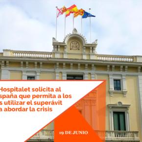 Ciudadanos l'Hospitalet solicita al gobierno de España que permita a los ayuntamientos utilizar el superávit municipal para abordar la crisis del COVID-19