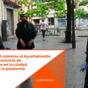 Cs l'Hospitalet conmina al Ayuntamiento a reforzar la presencia de agentes cívicos en la ciudad para controlar la pandemia