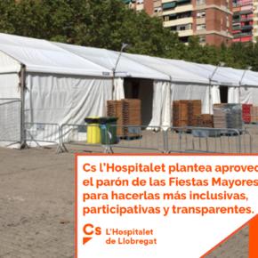 Cs l'Hospitalet plantea aprovechar el parón de las Fiestas Mayores para hacerlas más inclusivas, participativas y transparentes