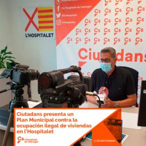 Ciutadans presenta un Plan Municipal contra la ocupación ilegal de viviendas en l'Hospitalet