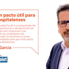 Por un pacto útil para los hospitalenses - artículo de Miguel García en el Diari de l'Hospitalet