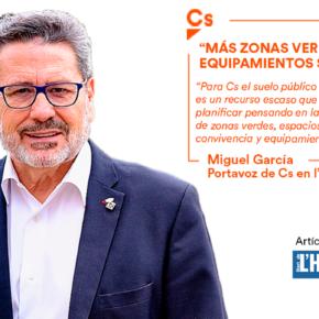 """""""Más zonas verdes y equipamientos sociales"""" - artículo de Miguel García en el Diari de l'Hospitalet"""
