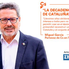 """""""La decadencia de Cataluña"""" - artículo de Miguel García en el Diari de l'Hospitalet"""