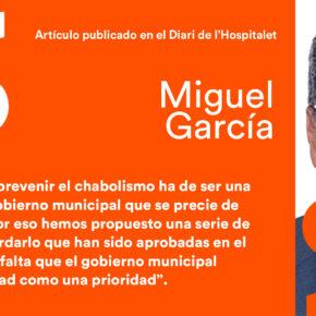 """""""Una consecuencia de la especulación inmobiliaria"""" - artículo de Miguel García en el Diari de l'Hospitalet"""