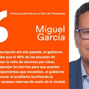 Densidad de población y equipamientos sociales - artículo de Miguel García en el Diari de l'Hospitalet