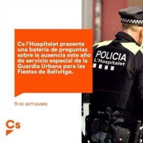 Cs l'Hospitalet presenta una batería de preguntas sobre la ausencia este año de servicio especial de la Guardia Urbana para las Fiestas de Bellvitge